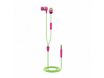 TRUST BUDDI KIDS IN-EAR HEADPHONES PINK