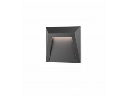 Svítidlo Nova Luce LUTON STEP GREY 2 schodišťové, IP 65, 1,2 W