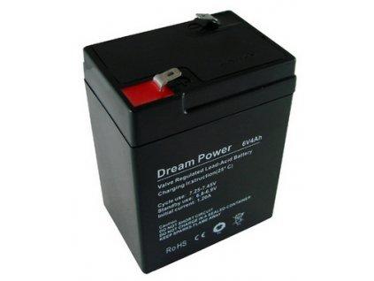Baterie Dream Power/Xtreme 6V/4,0Ah gelový akumulátor