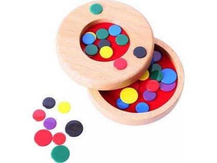 Hra Bigjigs Toys Dřevěné blechy