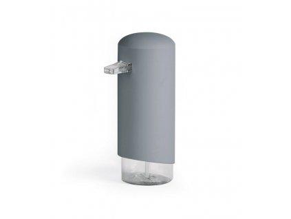 Dávkovač Compactor Clever mýdlové pěny, ABS + odolný PETG plast - šedý, 360 ml, RAN9648