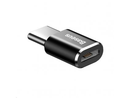 Baseus Micro USB Female to Type-C Male Adapter Converter Black