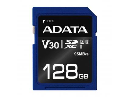 ADATA SDXC 128GB UHS-I U3 V30S 95/60MB/s