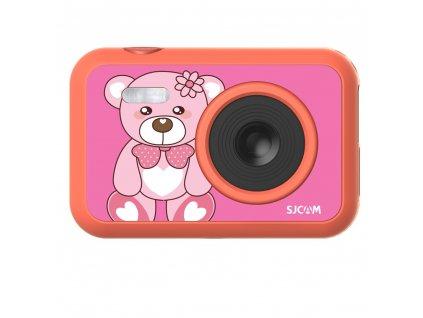 Kamera SJCAM F1 FunCam růžová, bear