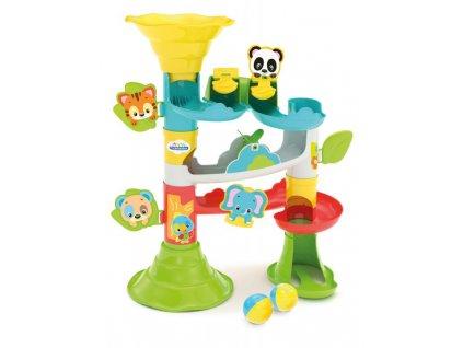 Hračka Clementoni Baby velká kuličková dráha se zvířátky