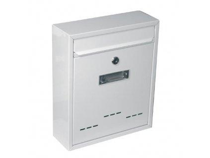 Schránka poštovní RADIM malá 310 x 260 x 90 mm bílá