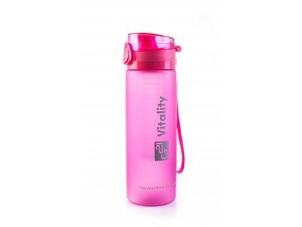 Láhev G21 na smoothie/juice, 600 ml, růžová-zmrzlá