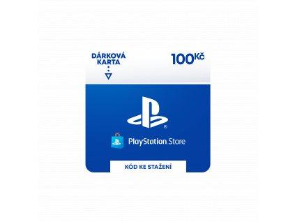 ESD CZ - PlayStation Store el. peněženka - 100 Kč